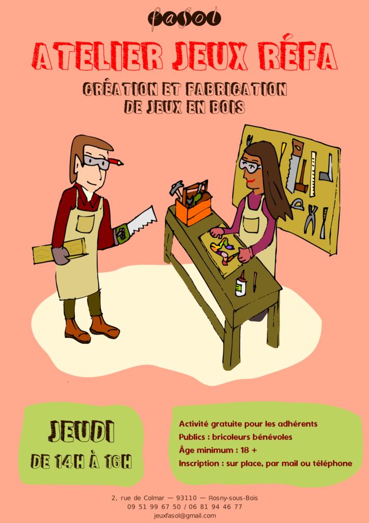 Atelier Jeux Refa - Création et fabrication de jeux en bois