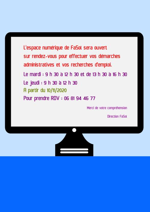 RDV Espace Numérique FaSol