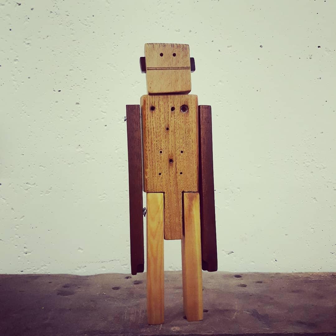 bonhomme robotique